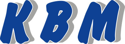 Logo of the machine manufacturer KBM