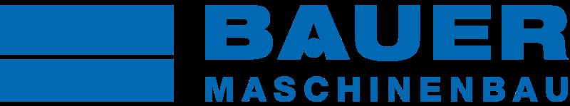 Logo des Maschinenherstellers Bauer