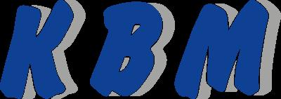 Logo of the machine manufacturer KBM