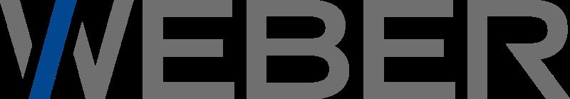 Logo des Maschinenherstellers Weber
